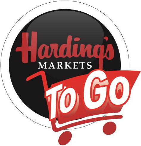 A theme logo of Harding's Friendly Markets